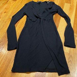 Derek Heart Black Juniors Dress